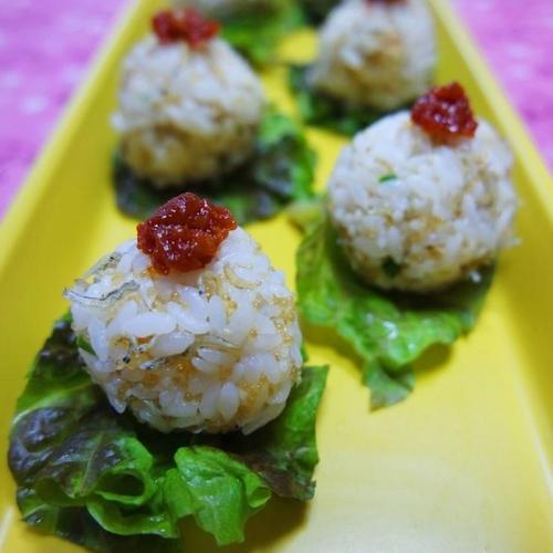 잔멸치볶음 황금레시피(잔멸치주먹밥 만들기)