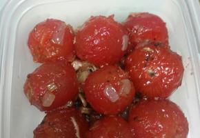 [혼자 해먹기] 방울토마토 샐러드 -오일베이스