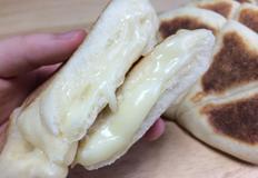 노오븐! 프라이팬 치즈빵 만들기