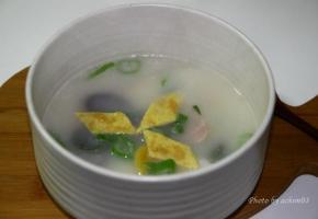 구수하고 진한 국물이 좋은 사골떡국 끓이기