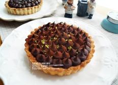 달콤한 초코크림 치즈타르트