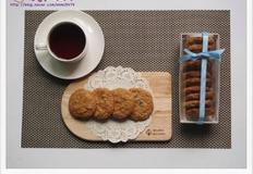 믹스로 만등 오트밀 초콜릿칩 쿠키