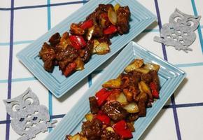 <찹스테이크 만들기> 소고기요리 채끝살로 만든 백종원표 찹스테이크만들기