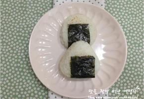 집에서 만드는 핸드메이드 삼각김밥