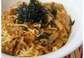 해투야간매점 레시피 김치 버터 라면 , 김버라 :-)