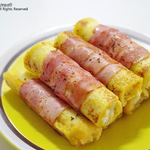 베이컨 에그롤 토스트<한끼 식사 도시락 메뉴 아이 간식 추천>