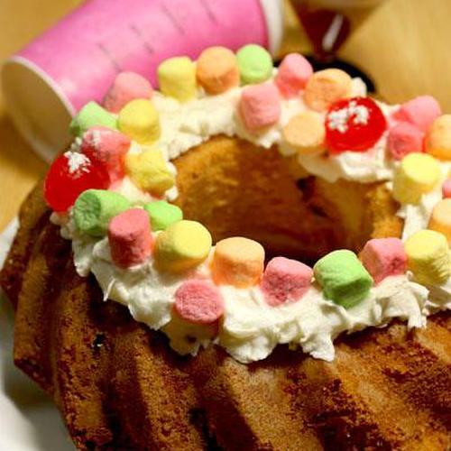 촉촉함에 반한 호박즙 허니 케이크