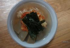 다이어트에 좋은 도토리묵밥