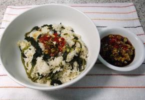 웰빙 곤드레나물밥