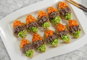 삼색 유부초밥