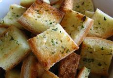 한입 마늘빵 만들기