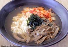 도토리묵밥 만들기
