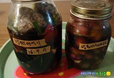 삼채아삭이장아찌와 방울토마토마리네이드:김치없이 산다,아무 걱정없다