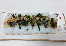 녹두가루를 이용한 청포묵 만들기