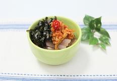 시판 냉면육수로 냉묵밥 만들기