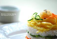 색색깔로 고운 삼색초밥