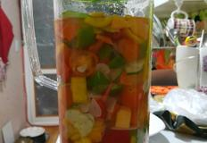 새코미 과일야채 물김치