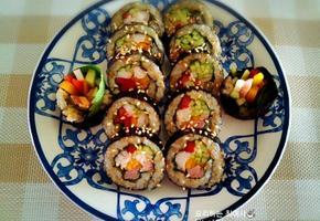 초간단 야채김밥 만들기