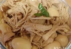 닭고기메추리알장조림