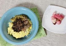 장조림 버터비빔밥