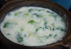 흰콩비지찌개