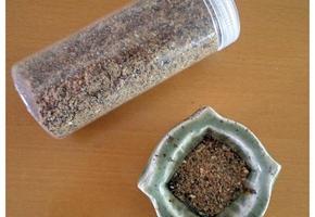 냉동실속 건조식품으로 간단히 맛가루 만들기~홈메이드 해물맛가루/해물후리가케
