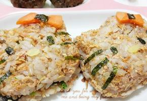 밥새우 키티주먹밥 - 유아기 성장에 도움을 주는 봄 제철요리(후기이유식)