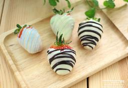 딸기 초콜릿 만들기