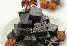 크리스마스베이킹, 브라우니트리케이크만들기,트리케익