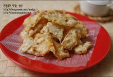 바삭바삭 쥐포튀김