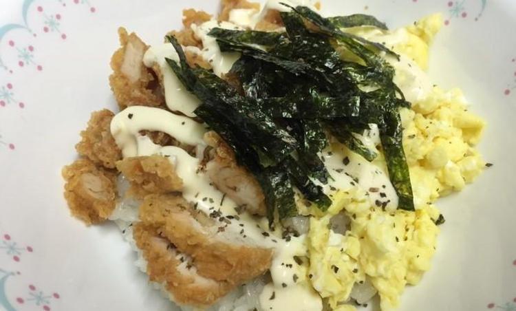 먹고남은 치킨활용법 :: 치킨마요덮밥 만들기.