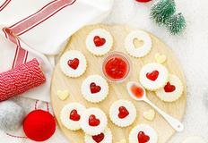 크리스마스 베이킹, 사랑가득한 린저쿠키