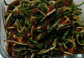달래간장, 마른김 콩나물밥에 활용 달래간장