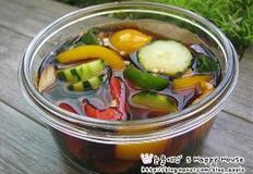 냉장고 야채모여라 모듬 피클만들기