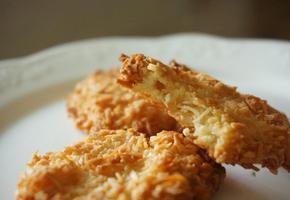 (노버터, 노오일, 노밀가루) 초간단 코코넛 쿠키