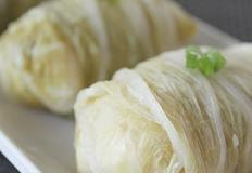 백김치 게살 현미주먹밥
