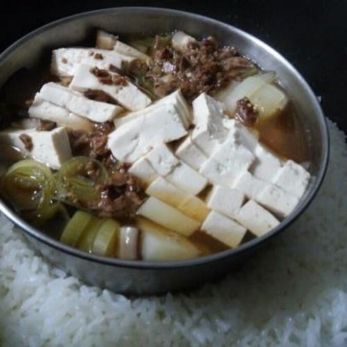 [비건채식]밥할때 찐 된장국을 만들었어요.