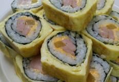 계란말이 김밥, 속재료 많이 없어도 맛있는 김밥