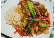 잡채밥 만들기
