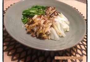 몸 보신하는 전복 비빔밥
