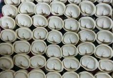 김치만두와 야채만두 만두속 만들기
