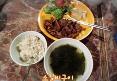 [해외자취Cook.feel通]286. 숯불 벌짚 소갈비구이 레시피 (소갈비/벌짚/벌짚소갈비)