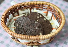 코코아 호두 초코칩 쿠기