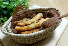 바삭한 반건조오징어튀김