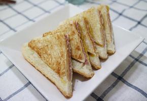 간단한 햄치즈 샌드위치 만들기~
