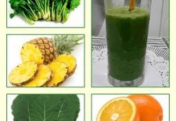 면역력증진, 혈당조절, 당뇨예방, 골다공증예방에 좋은 쥬스
