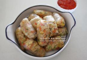 김밥만들기 & 남은재료로 만든 만두