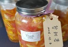 수제 황레몽...황금향&레몬&자몽청(감기예방,피부미용)
