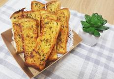 [오븐요리]식빵마늘빵 만들기