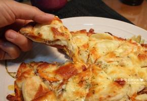 또띠아 피자만들기